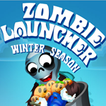 play winter zombie launcher html5 game