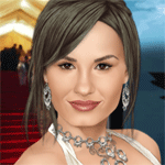 Play Demi Lovato True Make Up html 5 mobile game