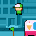 Play Free Runner html 5 mobile game