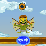 Play Goblin Flying Machine html 5 mobile game