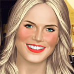 Play Heidi True Make Up html 5 mobile game