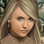 Play Nina Dobrev True Make Up html 5 mobile game