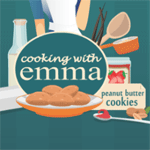 Play Peanut Butter Cookies: Cooking With Emma html 5 mobile game
