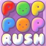 Play Pop Pop Rush html 5 mobile game