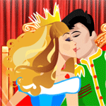 Play Princess Kisses html 5 mobile game