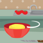 Play Tomato Quiche: Cooking With Emma html 5 mobile game