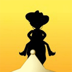 Play Wild West Solitaire html 5 mobile game