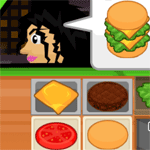Play Drive Thru Burgers html 5 mobile game