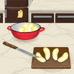 Play French Apple Pie: Cooking With Emma html 5 mobile game