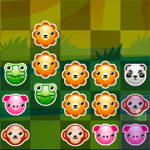 Play Pet Party Columns html 5 mobile game